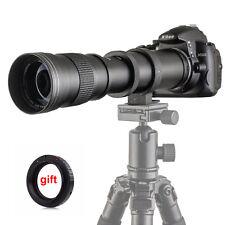 420-800mm F/8.3-16 Super Telephoto Zoom Lens  for Canon 1200D 760D 700D 70D 60D