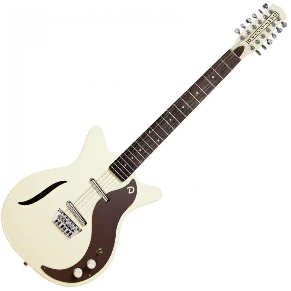 Danelectro Dano '59 Vintage 12 String Electric Guitar VINTAGE Weiß   DC59VW-12