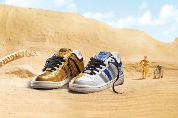 info for ef477 53b61 Star wars adidas originali top ten - e a.s. r2 - d2 e - c3-po droidi  dimensioni 9,5 + regalo 167bad