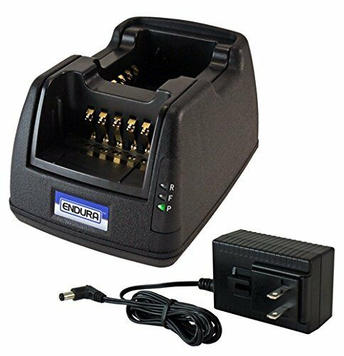 Power Products Dual Unit Rapid Charger for Kenwood NX240 NX340 Radio