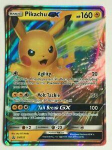Pikachu GX SM232 Ultra Rare Promo Pokémon Card Normal Size   eBay