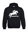 con Fino sportivi I uomo cappuccio cavallo a Felpa Salti Kapu Visualizza da a 5xl dwFUnqp