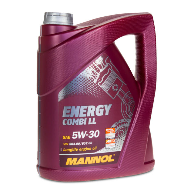 5 Liter 5W-30 Mannol Energy Combi LL Motoröl Longlife III, VW 504.00/507.00