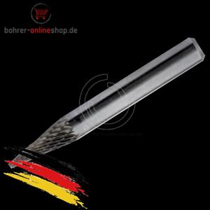 Hartmetallfräser Fräseraufsatz Hartmetall Fräsaufsatz Form M 2,35mm
