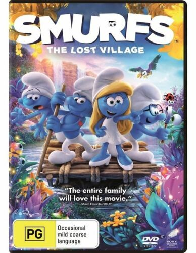 1 of 1 - Smurfs - The Lost Village (Dvd) Family, Animation, Adventure, Comedy Demi Lovato