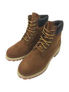 Dettagli su Timberland 6 Pollici Premium Stivali In Marrone Arancio Ruggine mostra il titolo originale