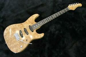 Psychedelic Guitars TG-02 Burl Maple in Very Good Condition #867