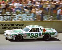 DARRELL WALTRIP #88 GATORADE CHEVY 1977 MICHIGAN 8X10 PHOTO NASCAR WINSTON CUP