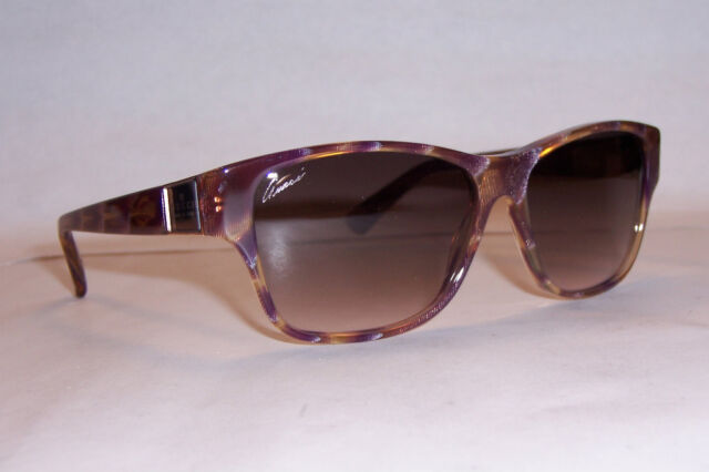 NEW GUCCI SUNGLASSES GG 3208/S VIOLET BROWN O39-K8 AUTHENTIC
