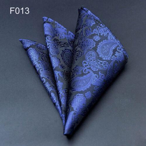 """100 Color 10/""""  Men's Vintage Handkerchief 100/% Silk Man Pocket Square Suit Hanky"""