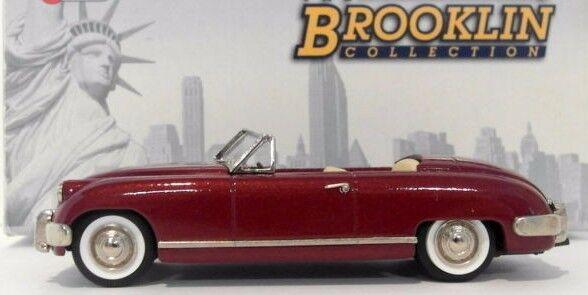 venta con alto descuento Nuevo Brooklin escala 1 43 BRK101 BRK101 BRK101 - 1952 Muntz Jet Tapa Abajo Granate  ventas en linea