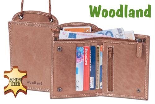 "/""Woodland/"" petto bustina di bufali In Pelle In Cognac 7202904"