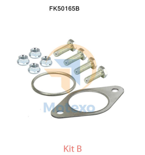 FK50165B EXHAUST LINK PIPE FITTING KIT FORD MONDEO 2.0 10//2001-2//2007
