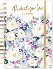Jul 2021 Jun 2022 Hardcover Daily Academic Planner Calendar Refill Notebook