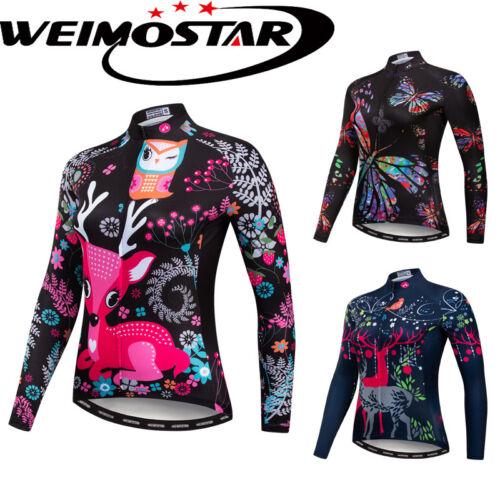 2019 Neue Weimostar Radtrikot Fahrradbekleidung Bike T-Shirt Langarmshirts Tops