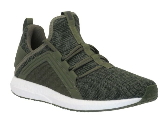 PUMA Men's authentic Mega Nrgy Knit Ankle High Running Shoes, Brand New