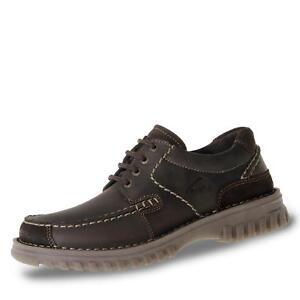 CAMEL ACTIVE HERREN Schuhe Leder Halbschuhe Schnürschuhe Gr