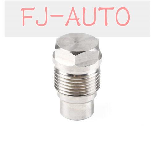 Diesel Fuel Rail Plug for 2007-2012 6.7L Dodge Cummins 2004.5-2010 GM Duramax