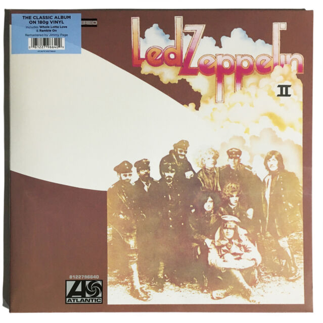 Led Zeppelin 'II' 180g Gatefold Sleeve LP Vinyl (Remastered) - New & Sealed