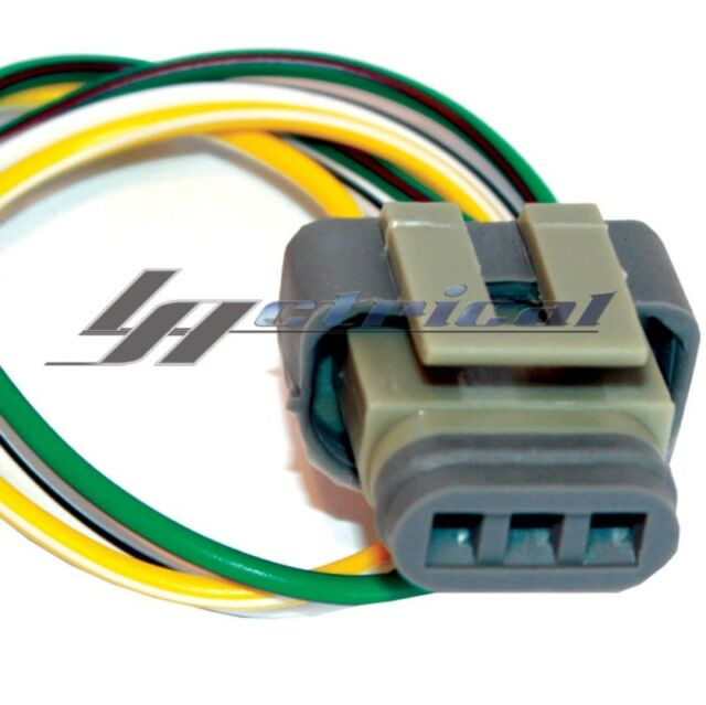 alternator repair plug harness 3 wire pigtail connector for ford rh ebay com