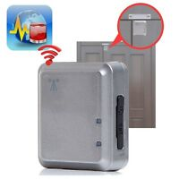 Gsm Door Alarm Home Security Access Control Vibration/magnetic Trigger Real Time