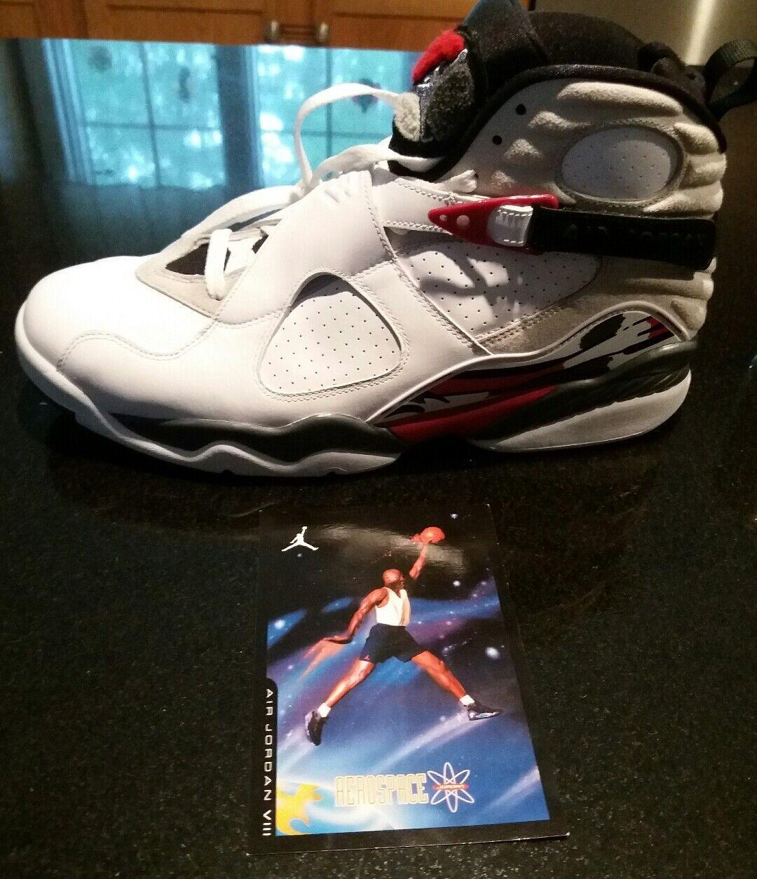 Nike Air Jordan Retro 8 space jam size 13 shoes white brand new