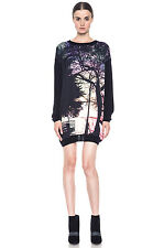 New Mary Katrantzou Knipi Wool Sweater Dress