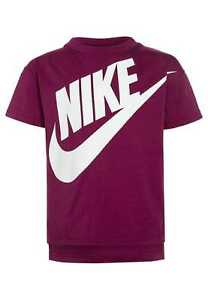 Nike-Signal-Graphic-Tee-Berry-Size-L-12-13-Years-TD077-FF-17