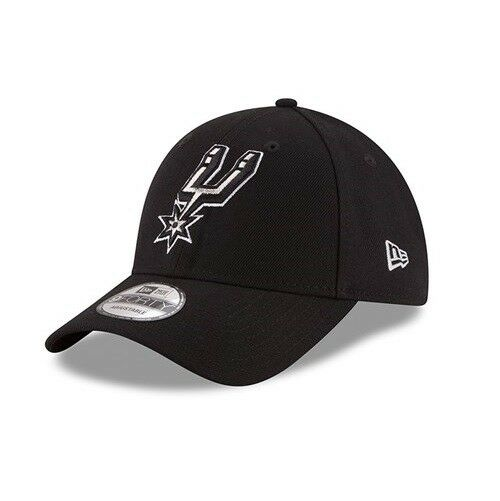 New Era Curved 9FORTY NBA San Antonio Spurs Adjustable Curved Era Peak Strap Baseball Cap dcfe04