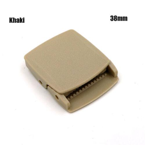 Tactical DIY Parts Cosplay Military Buckles Canvas Belt Buckle Adjustable Tied