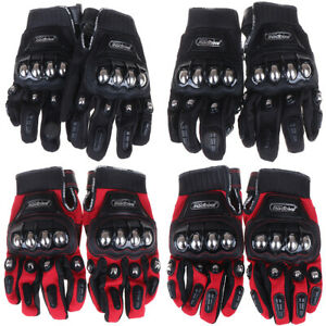 2019-Hot-Metal-Strong-Knuckle-Mad-Racing-Motorbike-Motorcycle-Armor-Gloves-Bla-C