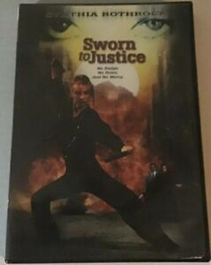 Sworn-to-Justice-RARE-Cynthia-Rothrock-OOP-Action-Sleaze-B-Movie-Drive-in