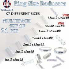 Ring size reducer clip ADJUSTER RESIZER 21pcs SNUGS SNUGGIES & New Spiral Style
