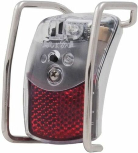 "Xba /"" Mud Guard Mount Spanninga Battery LED Taillight /"" Pixeo Xb"