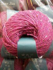 Debbie Bliss Fine Donegal shade 09 Fuchsia  (100g balls)