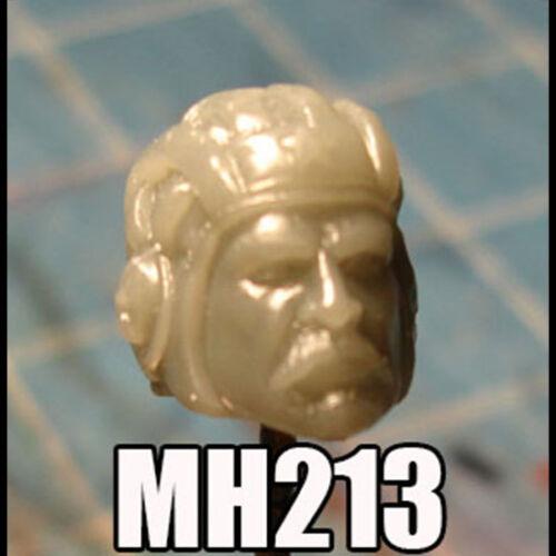 "MH213 Custom Cast Head utiliser avec 3.75/"" Star Wars Gi Joe Acid Rain Action Figures"