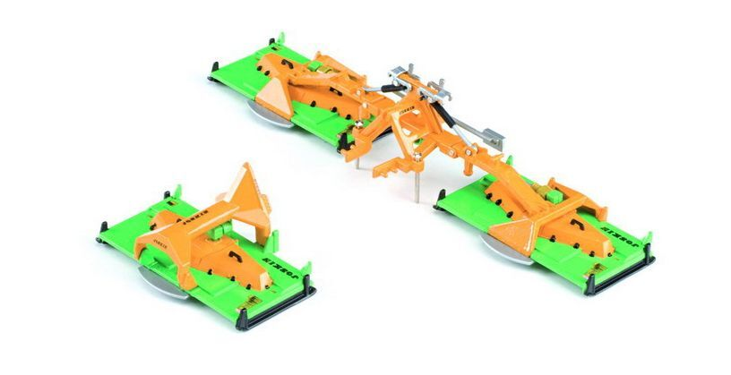 ROS 1 32 SCALE JOSKIN TRT 750 C6 FRONT AND REAR BUTTERLFY MOWERS (MIB)