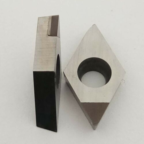 2pcs  DCGW070204 CBN30  High hardness diamond caibide bits
