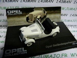 OPE21R-voiture-1-43-IXO-eagle-moss-OPEL-collection-Gelandesportwagen-1934-1938