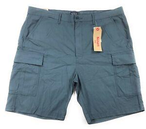 058e269a57 Levis Carrier Cargo Shorts Mens 100% Cotton Ripstop Dark Slate | eBay