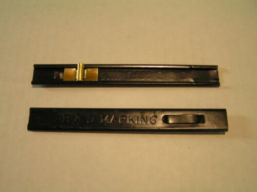 TH-10 steel B /& D Marking 10 Thin Soapstone Holder black