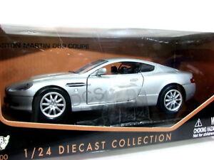 Motormax-Aston-Martin-Db9-Coupe-Argento-con-B-1-24-Pressofuso