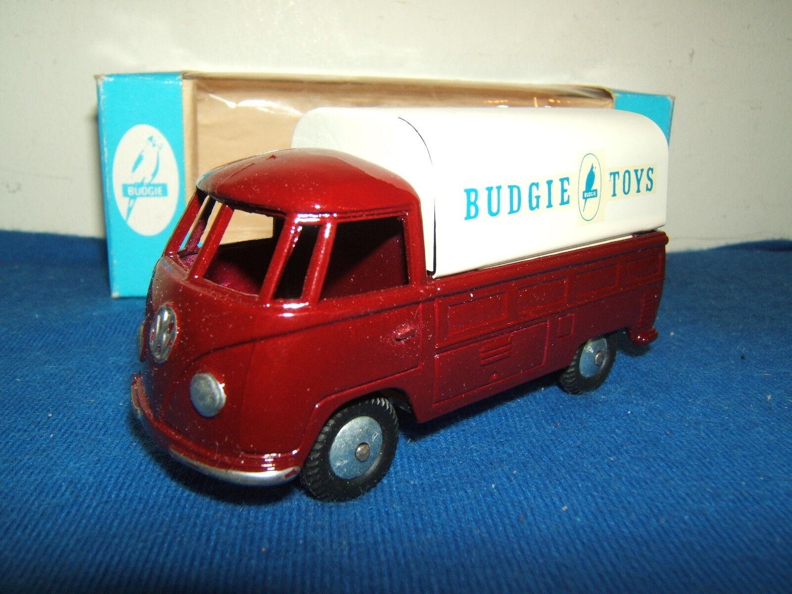 hermoso Budgie Juguetes Modelo No.204 Volkswagen Pick-up 'Budgie Juguetes' código código código 3 MIB  tomar hasta un 70% de descuento