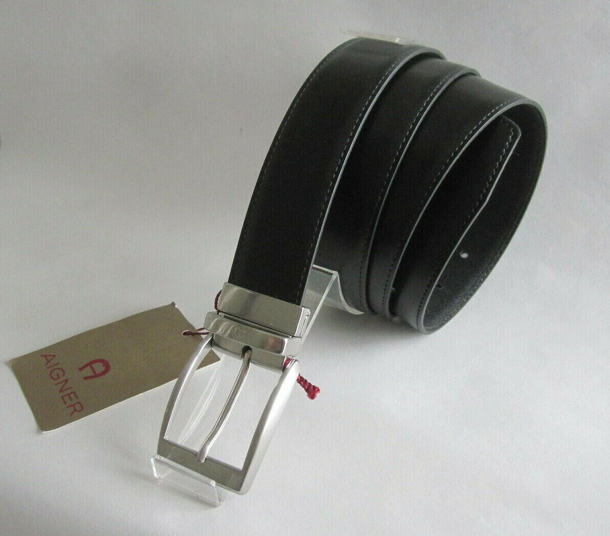 Aigner-Mens Leather Belt - 3,5 cm