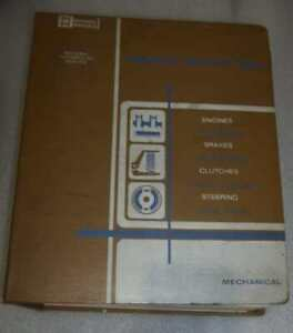MITCHELL-NATIONAL-SERVICE-DATA-MECHANICAL-MANUAL-CORVETTE-CHEVELLE-1961-1969