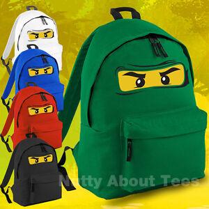 Lego-Ninjago-Bag-Backpack-Rucksack-Ninja-School-Highest-Quality-New