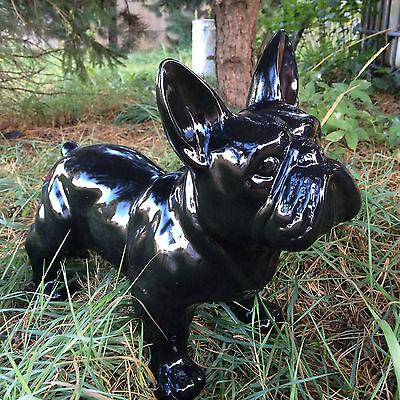 Der GüNstigste Preis Französische Bulldogge 35 Cm X 45 Cm Groß Designer Deko Figur, Deko Weich Und Leicht