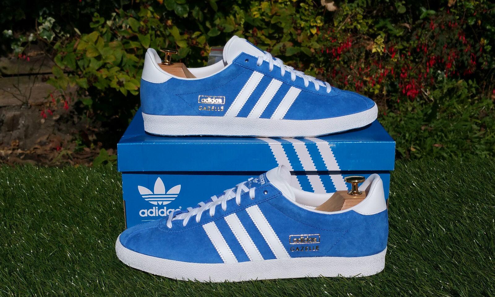 best value 34967 0791a 50%OFF BNWB   Genuine adidas originals Gazelle OG Air Force Blue Suede  trainers UK
