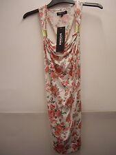 Morgan de Toi Rose Floral Print Racer Back Vest Top Size 6 BNWT