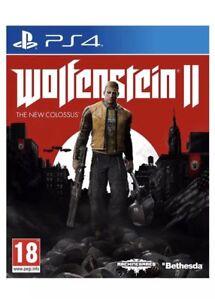 Wolfenstein-2-II-il-nuovo-COLOSSO-PS4-Menta-1st-Class-consegna-veloce